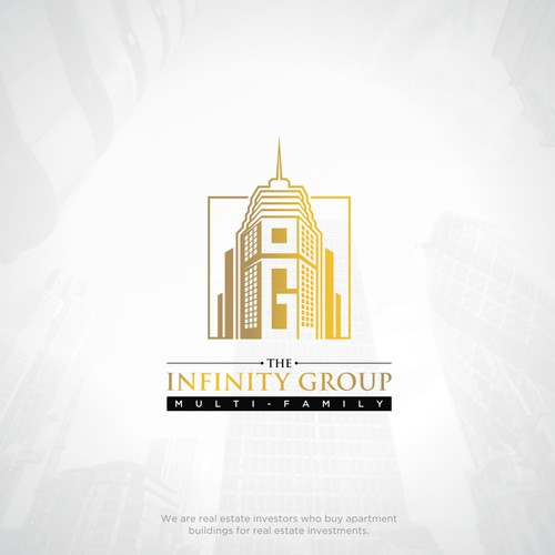 The Infinity Group - Powerful, Eye-Catching, Amazing Logo for Real Estate Company