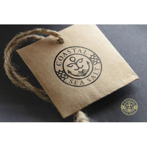 Logo and brand identity Coastal Sea Salt