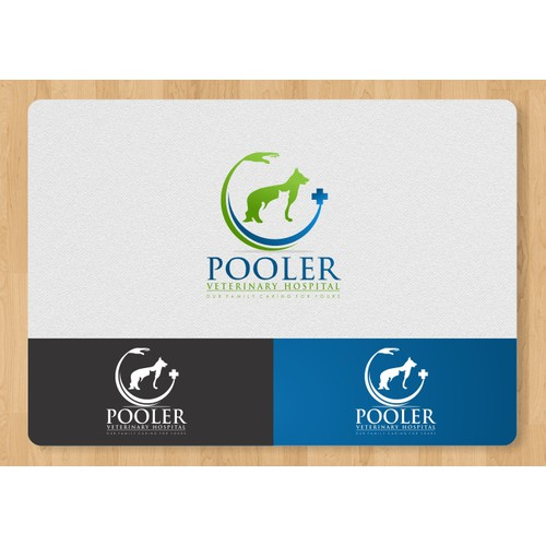 Created the next logo for Pooler Veterinary Hospital