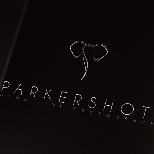 Create a clean and memorable logo for an international photographer