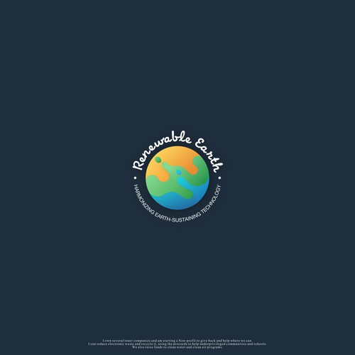 earth concept logo