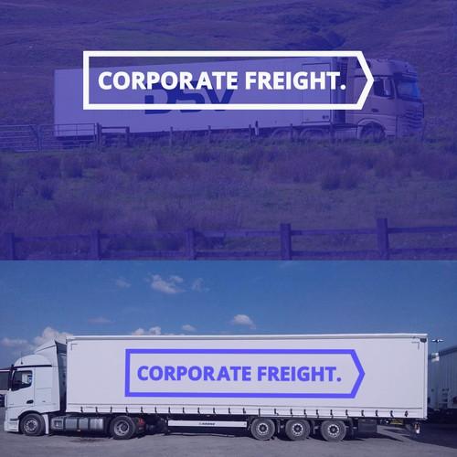 Trucking company logo