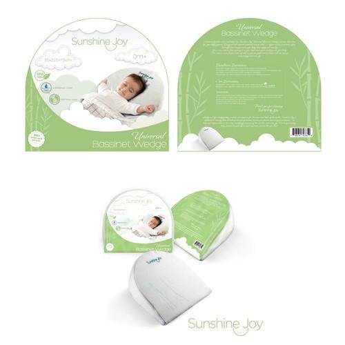 Baby Bassinet Wedge packaging