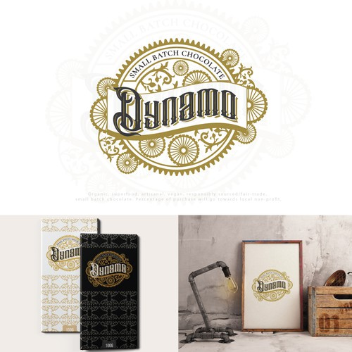 Logo design for chocolate factory