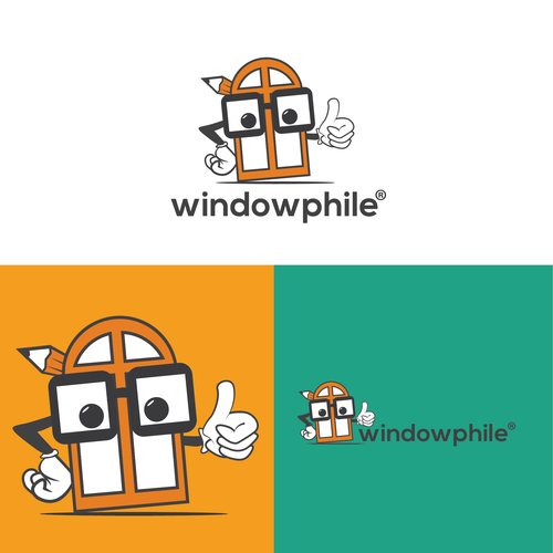 Character logo for Windowphile