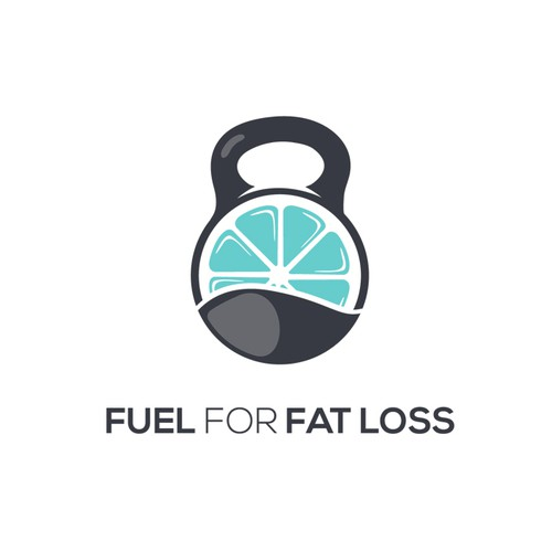 Modern logo for an online nutrition program for women that helps them release weight