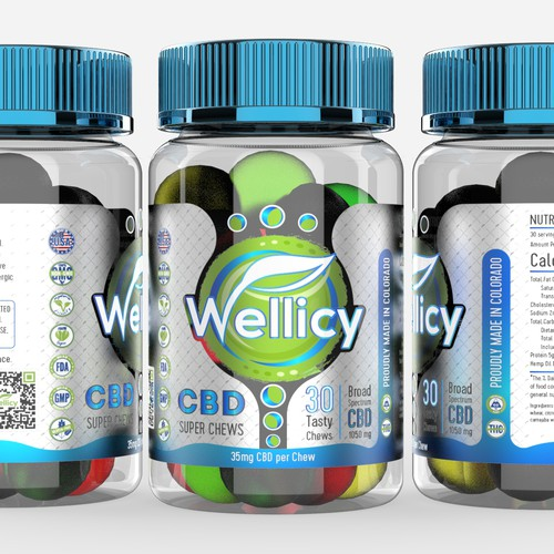 Label design for Wellicy