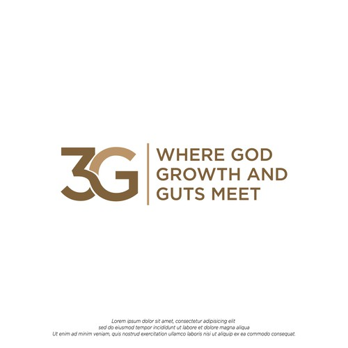 3G Acronym Bold Logo for Consulting Company