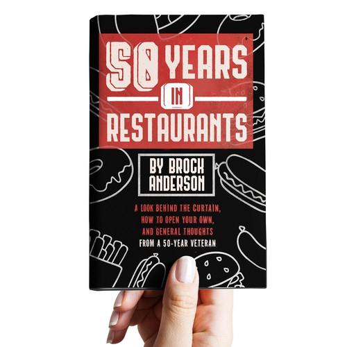 Restaurant Book Cover Design