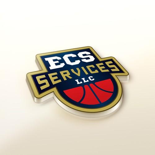 Logo concept for ECS Services LLC
