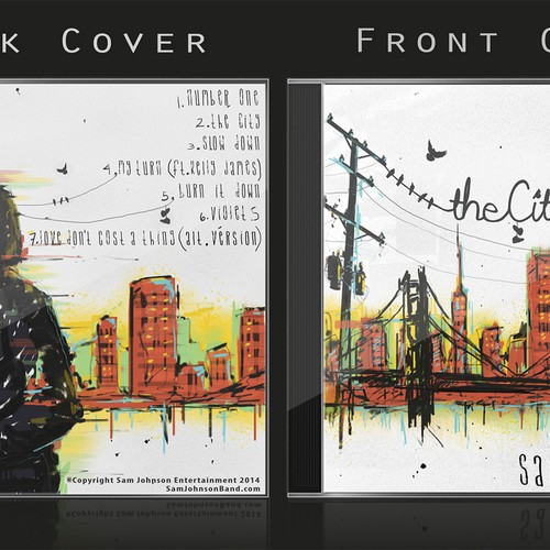 Design the Album Cover for one of San Francisco's top singer-songwriters!