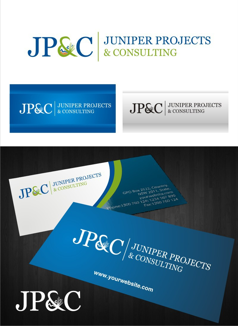 Help Juniper Projects & Consulting (JP&C) with a new logo
