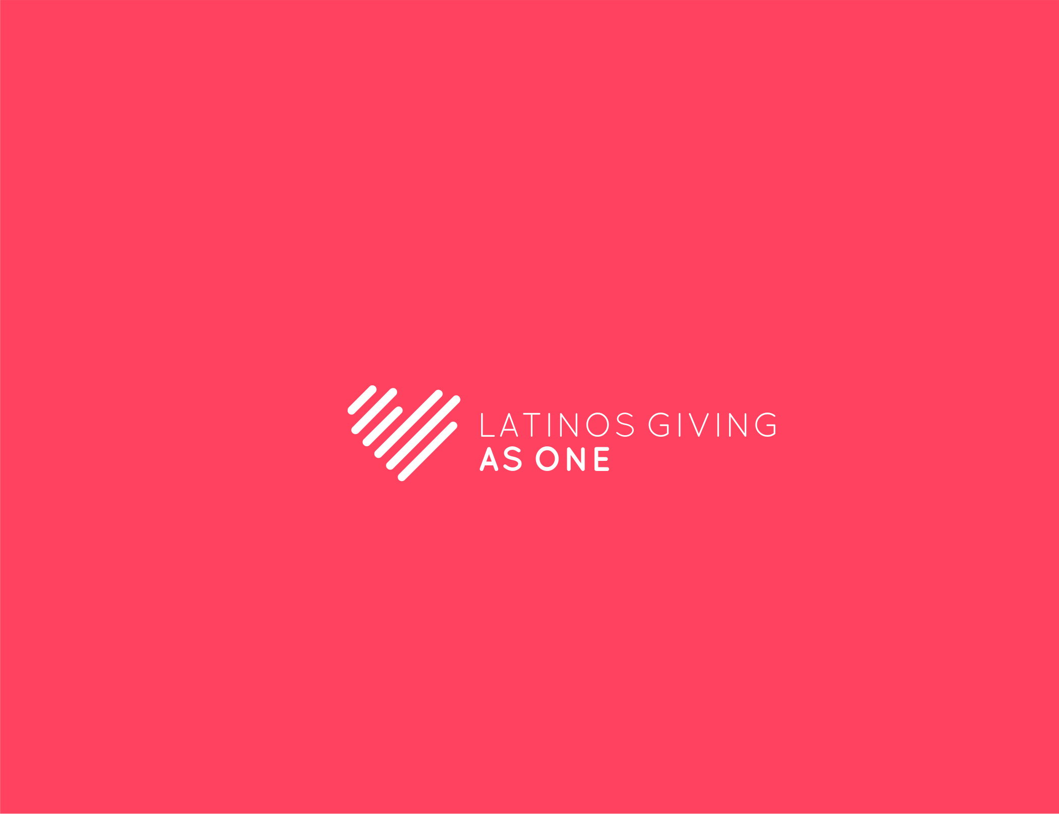 Latinos Giving As One