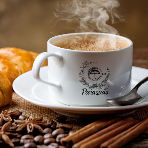 Paraguas cafe