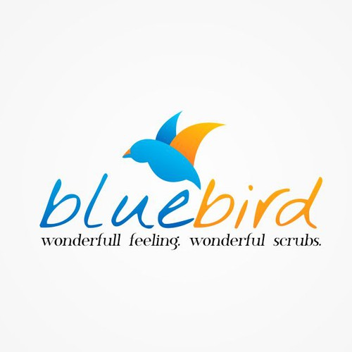 Help Blue Bird (sometimes referred to as Blue Bird Nursing Scrubs by Medelita OR Blue Bird by Medelita) with a new logo