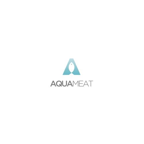 """Logo for """"AquaMeat"""""""