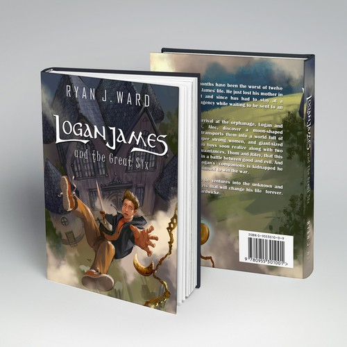 Adventure novel book cover