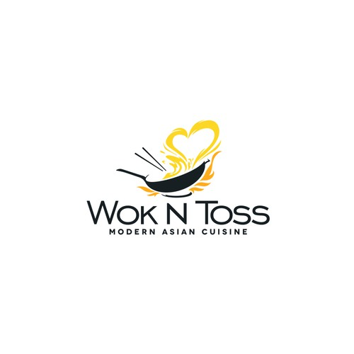 Logo for Asian food restaurant