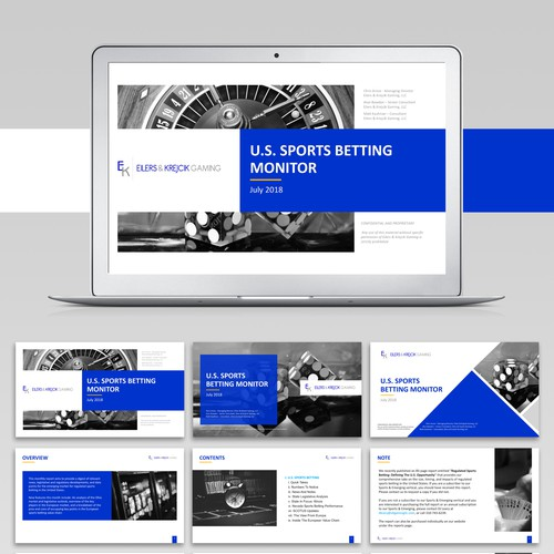 Redesign Research Report Template