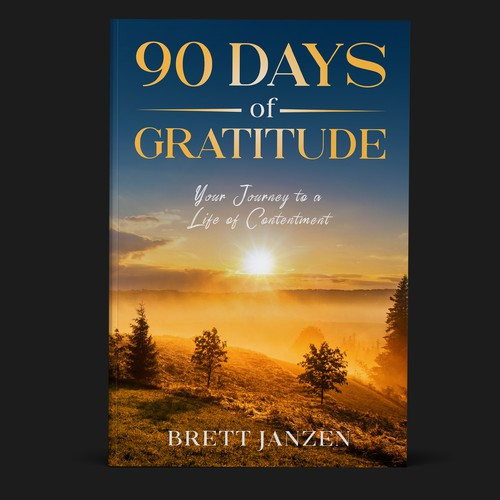 90 days of Gratitude Book Cover concept