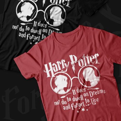 Harry Potter T-Shirt graphic