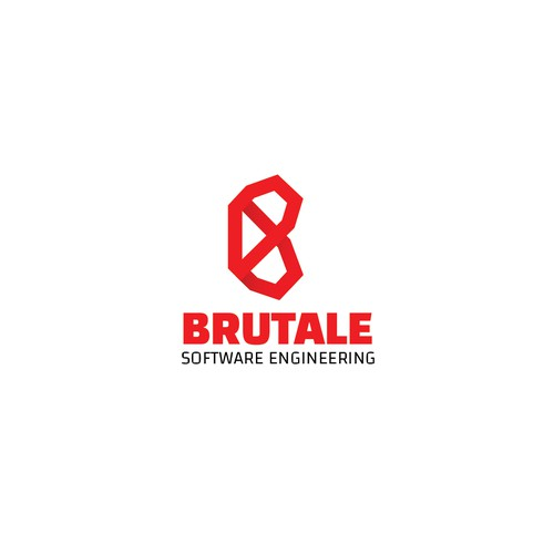 "Brutale"" logo for software engineering firm"