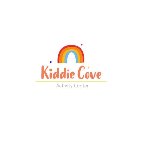logo concept for kids activity center