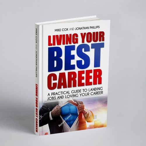 Book cover design for living your best career