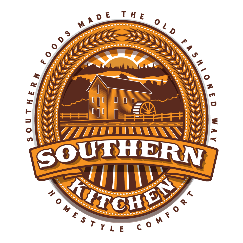 Southern Kitchen logo to attract grocery customers