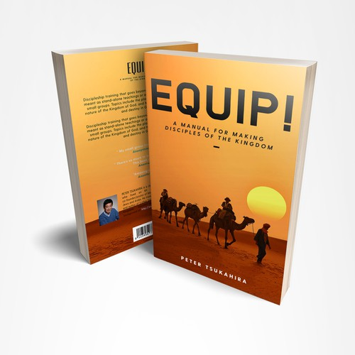 Winning Book Cover Design on Discipleship