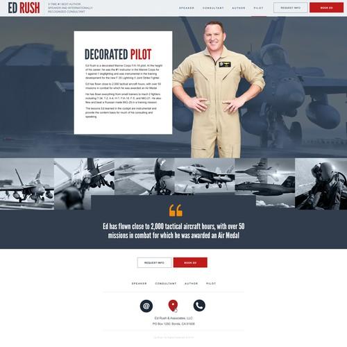 ED Rush Personal Website