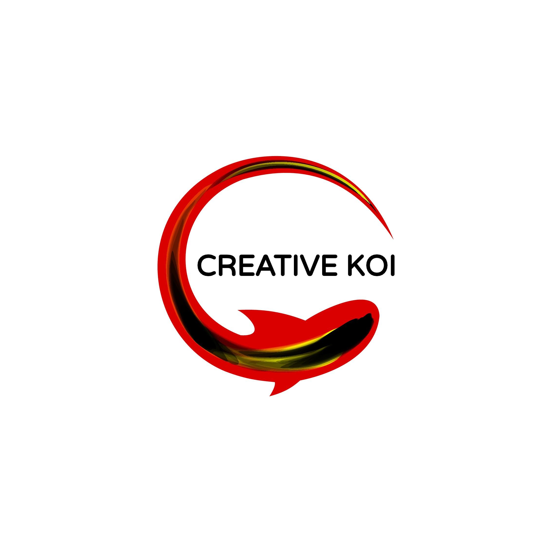 Design a logo to inspire budding artists for Creative Koi