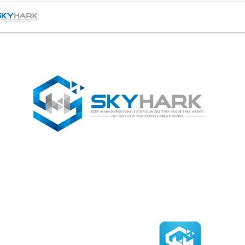 Skyhark Logo design
