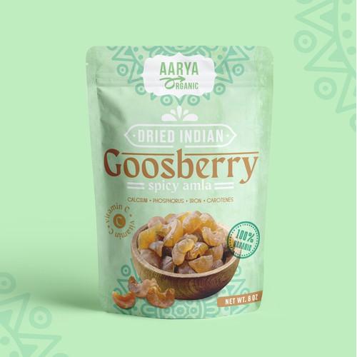 Indian snack packaging