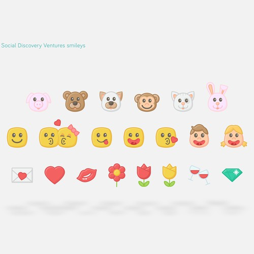 Emoticons for dating network