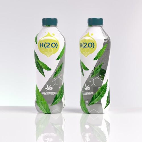 CBD rehydration beverage - Organic
