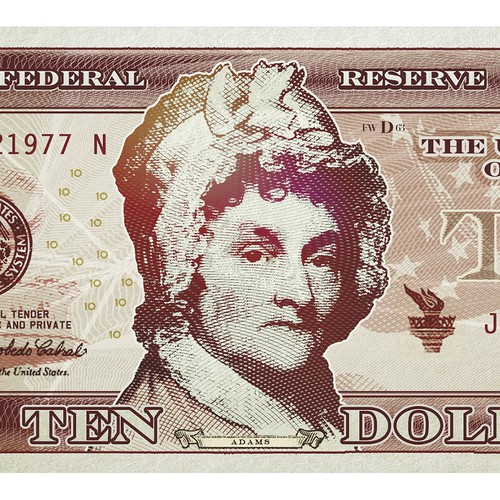$10 note.