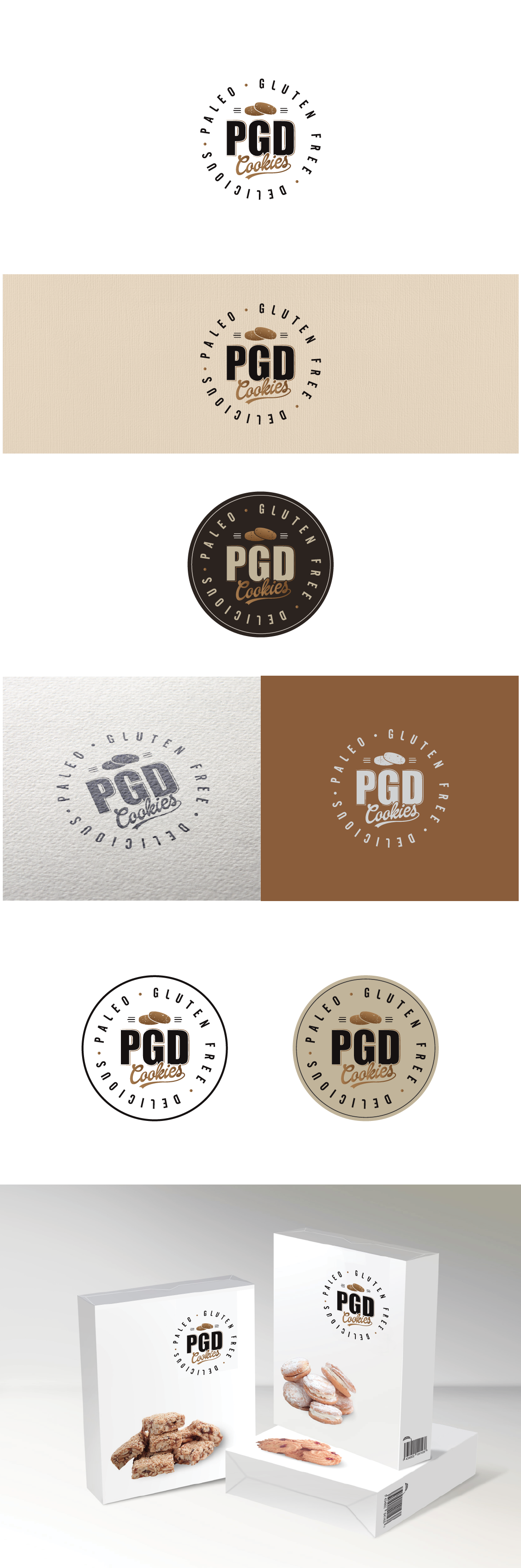 Create a logo for PGD Cookies