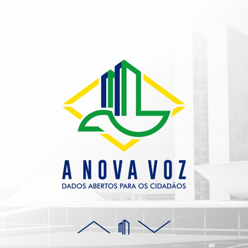 Professional and modern logo design for A Nova Vos