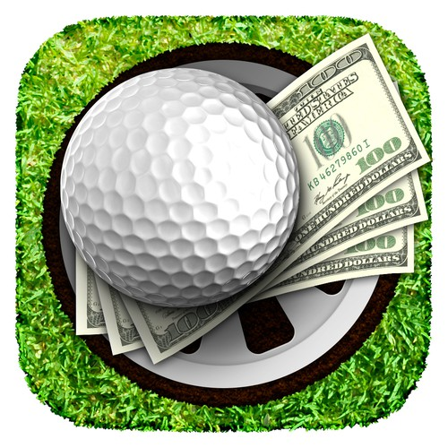 Golf betting app icon
