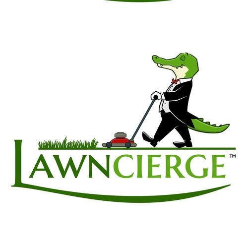 Concierge Alligator for landscaping company