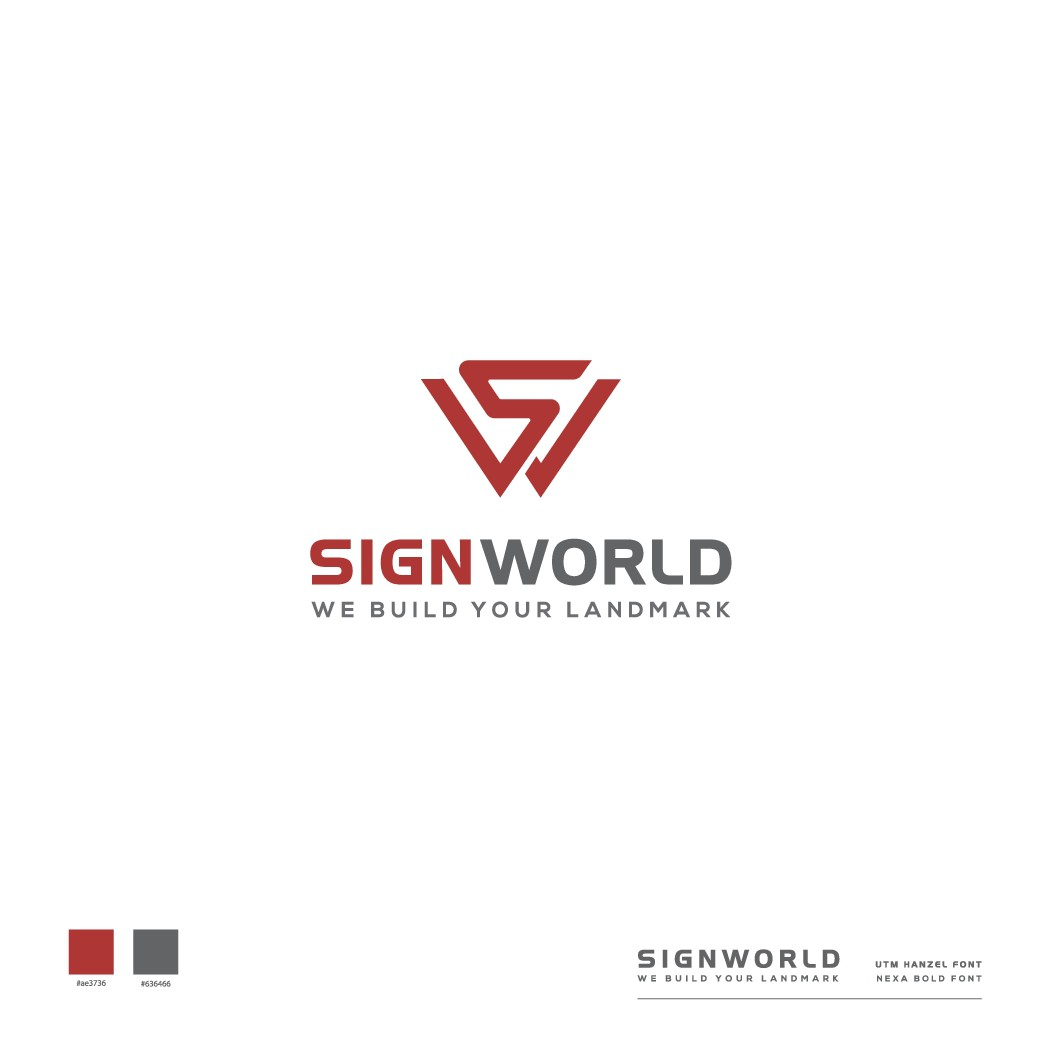 Logo for Sign World