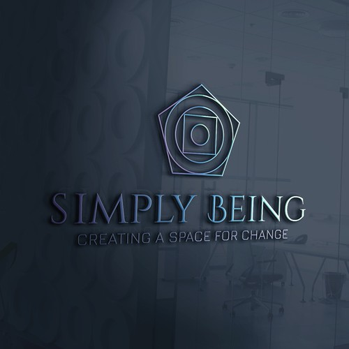 Logo concept for SIMPLY BEING