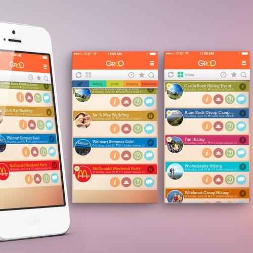 Fun Location-Focused Social Mobile App