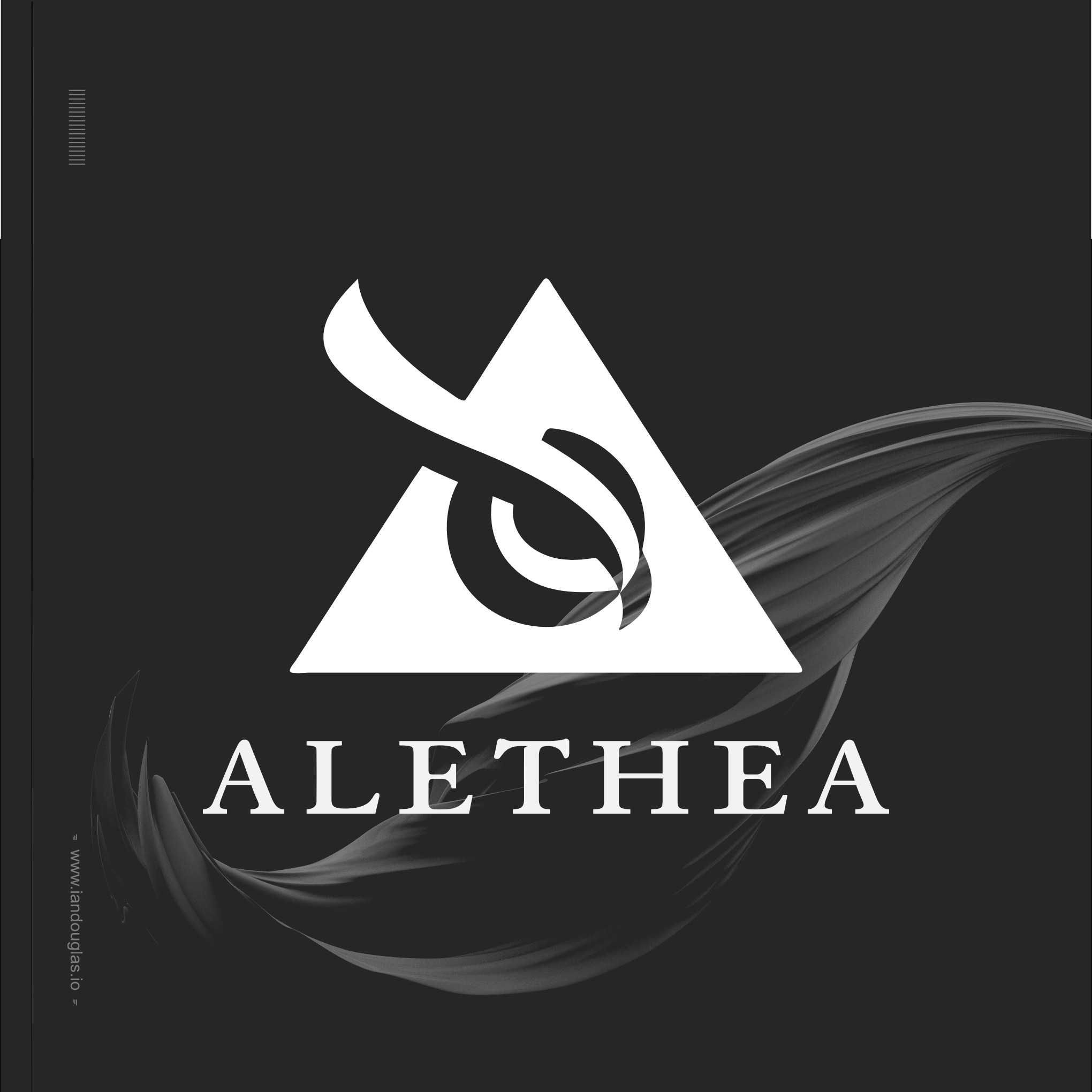 Create a sophisticated logo for Alethea