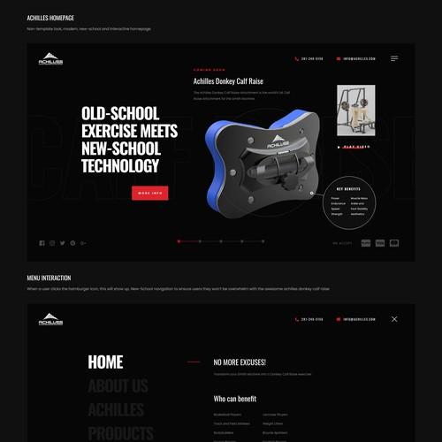 Achilles website