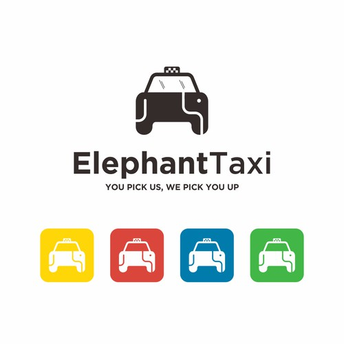 let's creat a Striking logo for the electric taxi company