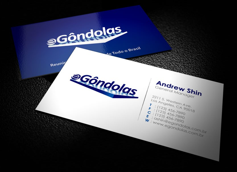 New Stationery for eGôndolas