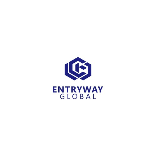 logo concept for Entriway Global