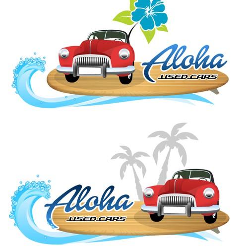 Create a local Hawaiian Style logo for a Used Car business!
